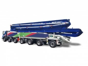 70m concrete pump