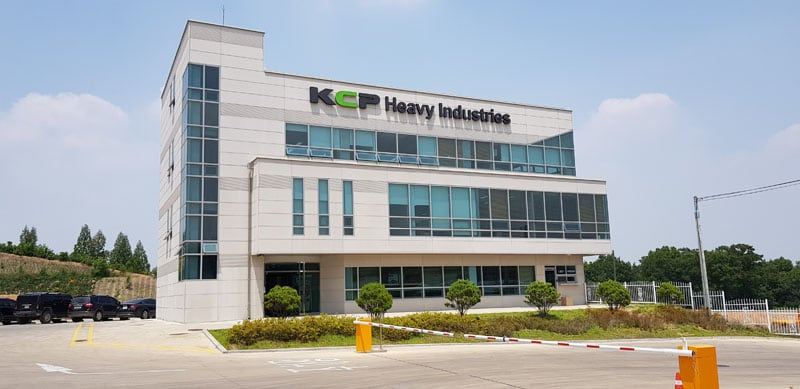KCP Heavy Industries building
