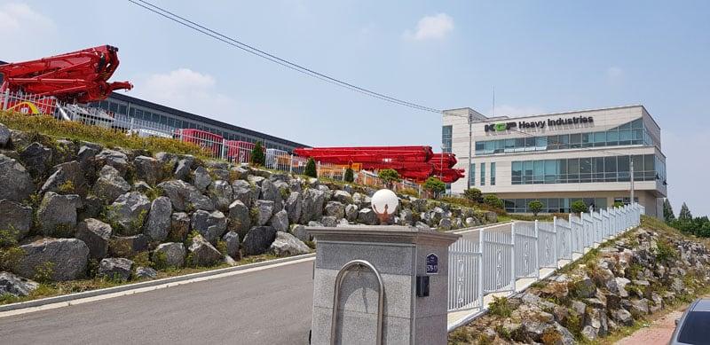 KCP Concrete Pumps Ltd. headquarters