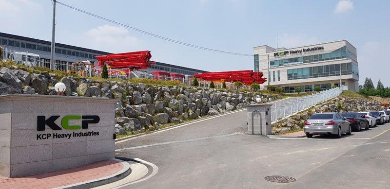 KCP Concrete Pumps Ltd. building