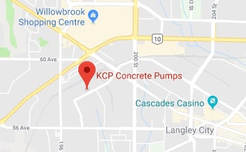 KCP location map