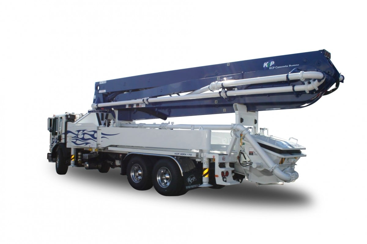 40m concrete pump