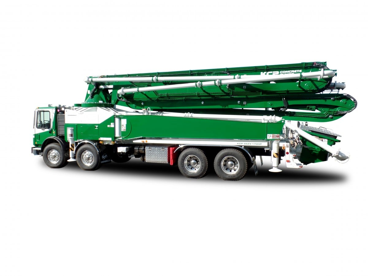 46m concrete pump