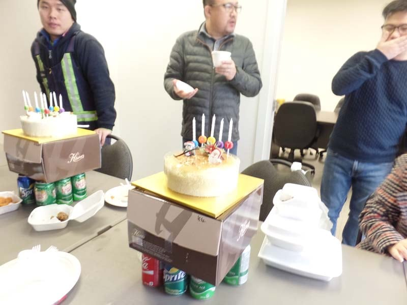KCP office party